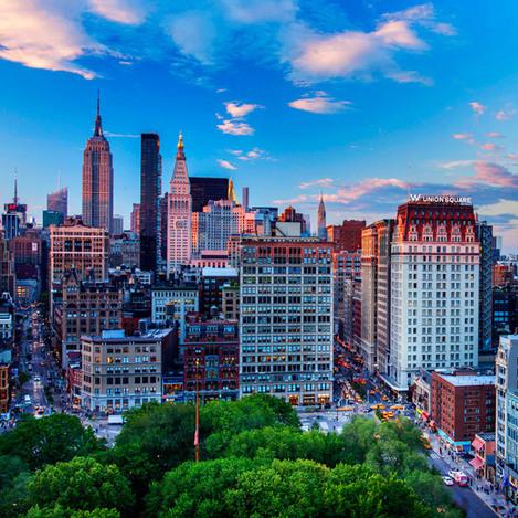 Mijn Google map van New York